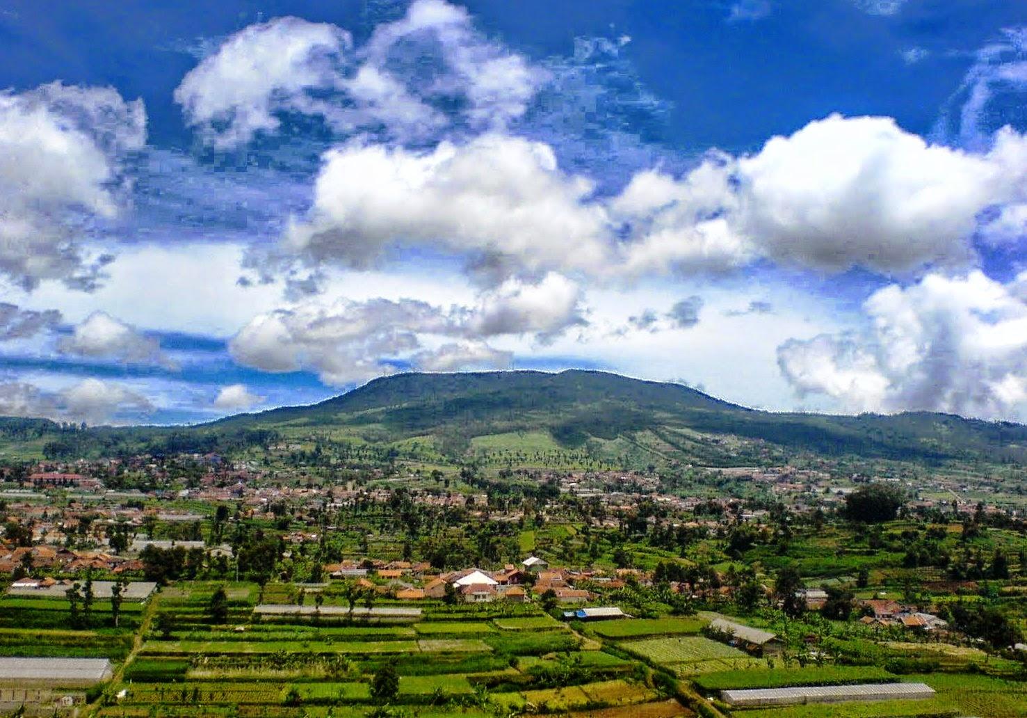 Gunung Tangkuban Perahu Gempa Hari